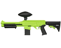 JT Splatmaster Z18 Paintball Pump Gun - Green