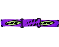 JT Replacement Goggle Strap - Lime/Purple