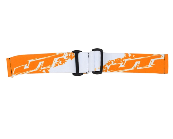 JT Replacement Goggle Strap - Orange/White