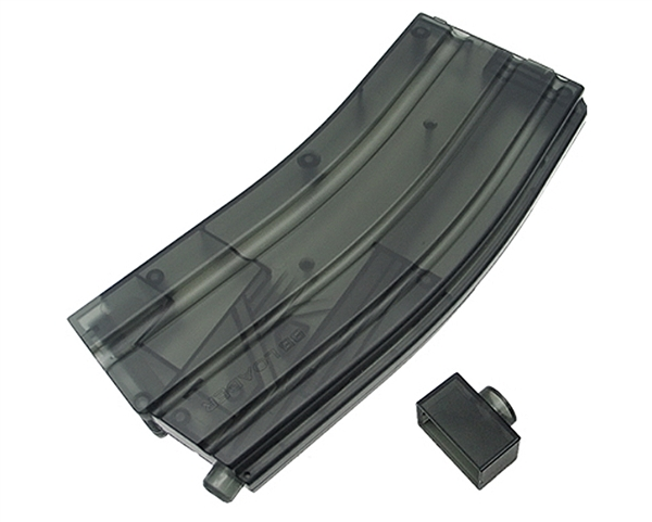King Arms Airsoft 470 Rounds M4 Style BB Loader - X-Large - Black