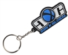 Gen X Global Rubber Key Chain - Blue