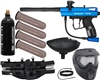 Kingman Spyder Victor Epic Paintball Gun Kit - Gloss Blue