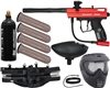 Kingman Spyder Victor Epic Paintball Gun Kit - Gloss Red