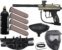 Kingman Spyder Victor Epic Paintball Gun Kit - Olive Green