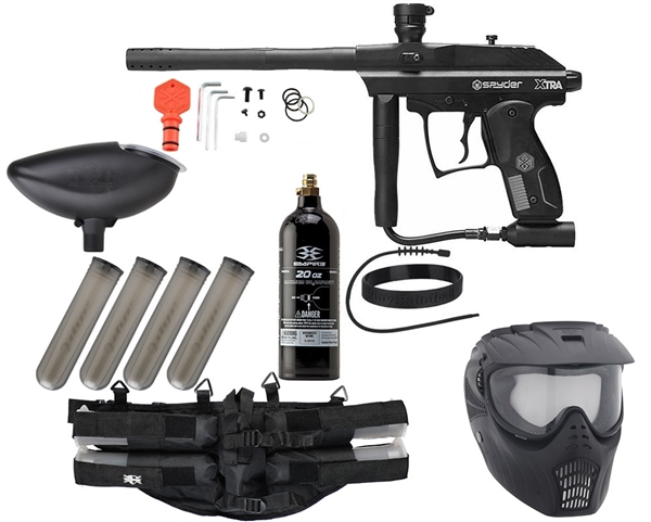 Spyder Xtra Epic Paintball Gun Package