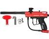 Kingman Spyder Semi-Auto Victor Paintball Gun - Gloss Red