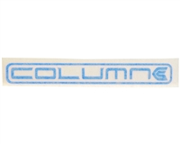KM Column Sticker - Blue
