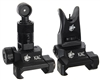 Knight's Armament Iron Sights - Back Up - Black