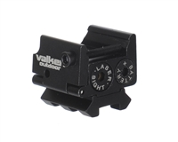 Valken Pistol Laser w/ Dual Weaver Mini Mount - Red