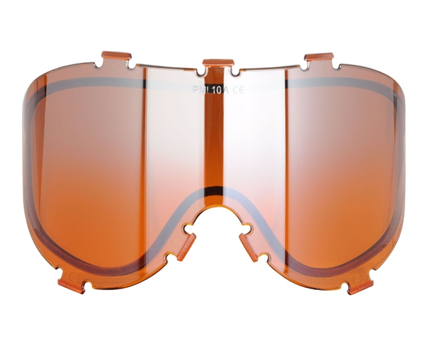 Empire/Extreme Rage Thermal Dual Pane Lens - X-Ray & 20/20 - Orange Mirror (21456)
