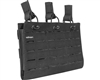 Valken Airsoft Multi-Rifle LC Magazine Pouch - Triple - Black