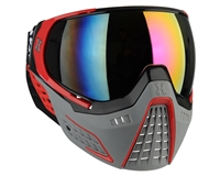 HK Army KLR Goggles - Slate Black/Red