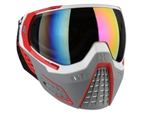 HK Army KLR Goggles - Slate White/Red