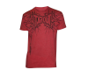 Tapout T-Shirt Bones - Heather Red