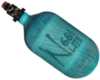 Ninja Lite Compressed Air Bottle w/Pro V2 SLP Regulator - Translucent Teal (68/4500)