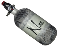 45/4500 with Pro V2 SHP Regulator Ninja Lite Carbon Fiber Air Tank - Ghost Grey