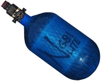 68/4500 with Pro V2 Regulator Ninja Lite Carbon Fiber Air Tank - Translucent Blue