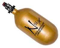 77/4500 with Pro V2 Regulator Ninja SLX Carbon Fiber Air Tank - 10th Year Anniversary Gold