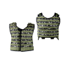 "NXe Extraktion ""Shell"" Heavy Paintball Vest - Camo"