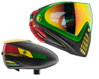 Dye I4 Pro Invision Goggle & R2 Hopper Package - Rasta