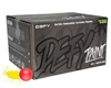 D3FY Sports .68 Caliber Paintballs - Level 1 Practice - Pink Shell Yellow Fill - 100 Rounds