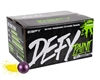D3FY Sports .68 Caliber Paintballs - Level 3 Tournament - Purple Shell Yellow Fill - 100 Rounds