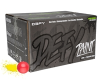 D3FY Sports .68 Caliber Paintballs - Level 1 Practice - Pink Shell Yellow Fill - 2,000 Rounds