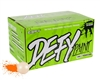 D3FY Sports .68 Caliber Paintballs - Level 2 Premium - White Shell Orange Fill - 2,000 Rounds