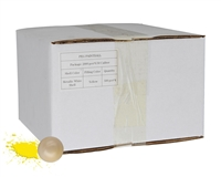 D3FY Sports .50 Caliber Paintballs - White Box - White Shell Yellow Fill - 2,000 Rounds