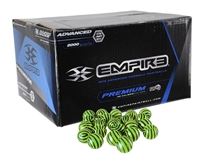 Empire .68 Caliber Paintballs - El Tigre - Neon Green Fill - 100 Rounds