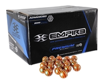 Empire .68 Caliber Paintballs - El Tigre - Orange Fill - 2,000 Rounds