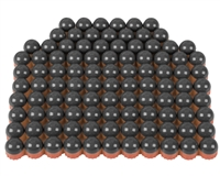 First Strike/Tiberius Arms FSR Paintballs - 100 Count - Smoke/Copper Shell w/ Blue Fill