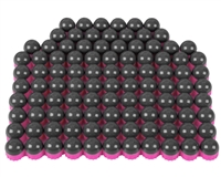 First Strike/Tiberius Arms FSR Paintballs - 100 Count - Smoke/Pink Shell w/ Pink Fill