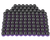 First Strike/Tiberius Arms FSR Paintballs - 100 Count - Smoke/Purple Shell w/ Orange Fill