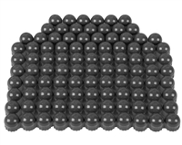 First Strike/Tiberius Arms FSR Paintballs - 100 Count - Smoke/Smoke Shell w/ Green Fill