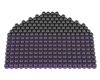 First Strike/Tiberius Arms FSR Paintballs - 250 Count - Smoke/Purple Shell w/ Orange Fill