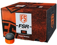 First Strike/Tiberius Arms FSR Paintballs - 600 Count - Smoke/Orange Shell - Orange Fill