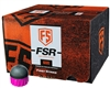 First Strike/Tiberius Arms FSR Paintballs - 600 Count - Smoke/Pink Shell - Pink Fill