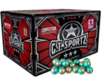 GI Sportz .68 Caliber Paintballs - American Flag - Yellow Fill - 100 Rounds