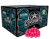 GI Sportz .68 Caliber Paintballs - 1 Star - Pink Fill - 1,000 Rounds