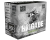 GI Sportz .68 Caliber Paintballs - Brigade (Mag Fed) - Grey Shell/Pink Fill - 1,000 Rounds