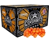 GI Sportz .68 Caliber Paintballs - 4 Star - Orange Fill - 2,000 Rounds