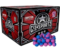 GI Sportz .68 Caliber Paintballs - Warplay 3 Star - Aqua Fill - 500 Rounds