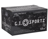 GI Sportz 1 Star Paintball Case 2000 Rounds - Orange Fill