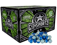 GI Sportz 2 Star Paintball Case 100 Rounds - Light Blue Fill