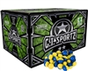 GI Sportz 2 Star Paintball Case 500 Rounds - Yellow Fill