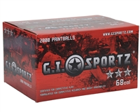 GI Sportz 3 Star Paintball Case 100 Rounds - Orange Fill