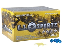 GI Sportz 4 Star Paintball Case 500 Rounds - Yellow Fill