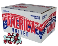 GI Sportz America United Paintball Case 2,000 Rounds - Yellow Fill ($5 Will Go To Wounded Warrior)
