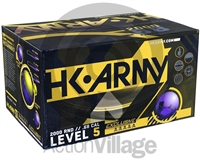 HK Army .68 Caliber Paintballs - Exclusive - Yellow Fill - 1,000 Rounds